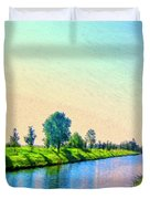 Provence Canal Duvet Cover