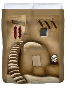 Pueblo Oven Duvet Cover