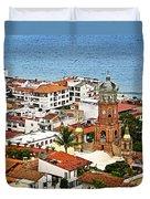 Puerto Vallarta Duvet Cover