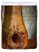 Pumpkin Anatomy Duvet Cover