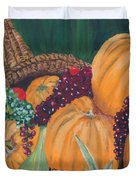 Pumpkin Plenty Duvet Cover