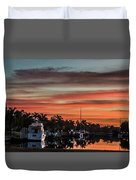 Punta Gorda From Bal Harbor Duvet Cover