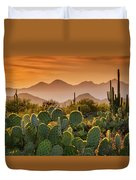 Pure Sonoran Gold  Duvet Cover