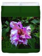 Purple Flower Duvet Cover