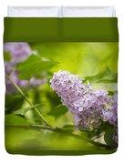 Purple Lilac Duvet Cover
