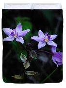 Purple Orchids 2 Duvet Cover