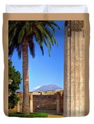 Quiet Vesuvius Duvet Cover