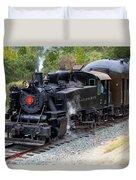 Quincy Railroad No. 2 Duvet Cover
