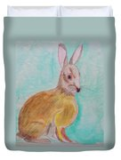Rabbit Illustration Duvet Cover