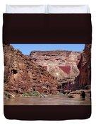 Rafting The Colorado Duvet Cover