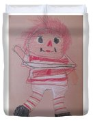 Rag Doll Duvet Cover