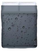 Rain On A Window Duvet Cover