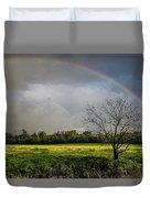 Rainbow Fields Duvet Cover