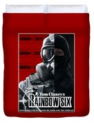 Rainbow Six Duvet Cover