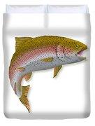 Rainbow Trout 1 Duvet Cover