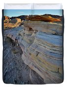 Rainbow Wave Of Sandstone In Valley Of Fire Duvet Cover