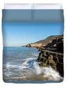 Point Loma Tide Pools Area Duvet Cover