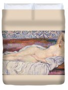 Reclining Nude Duvet Cover