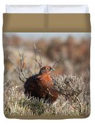 Red Grouse Duvet Cover