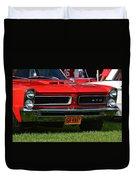 red GTO Duvet Cover
