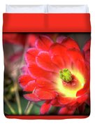 Red Hedgehog Duvet Cover