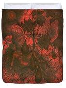 Red Hell  Duvet Cover