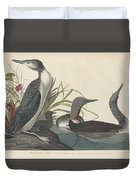 Red-throated Diver Duvet Cover