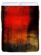 Red Tide Vertical Duvet Cover