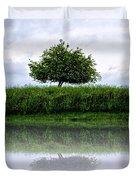 Reflecting Tree Duvet Cover