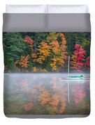 Reflection Of Fall Duvet Cover