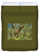 Relaxing Planes Trees Arbor Duvet Cover