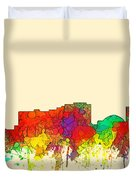 Reno Nevada Skyline Duvet Cover