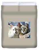 Rescued And Spoiled Duvet Cover