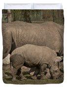 Rhinoceros Duvet Cover