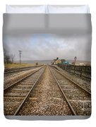 Ribblehead Station Duvet Cover