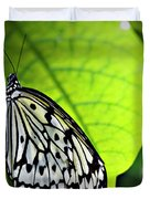 Rice Paper Butterfly 6 Duvet Cover