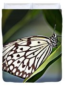 Rice Paper Butterfly 8 Duvet Cover