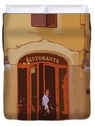Ristorante Duvet Cover