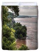 River Bluff View Duvet Cover