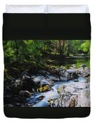 River In Wales Duvet Cover