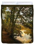Riverside Reflections Duvet Cover