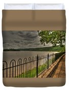 Riverside Walk Duvet Cover