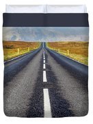 Road To Nowhere. Duvet Cover