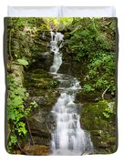 Roadside Waterfall Duvet Cover