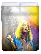 Robert Plant 02 Duvet Cover
