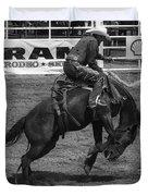 Rodeo Saddleback Riding 5 Duvet Cover