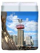 Roosevelt Island Tram Duvet Cover
