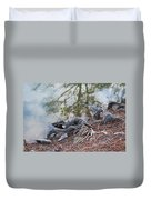 Rooted Lake Edge Duvet Cover