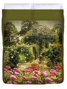 Rose Arbor Duvet Cover