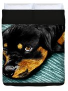 Rotty Duvet Cover